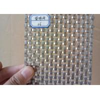 Wholesale High Strength Flat Wire Mesh Specializing In Production / Metal Wall from china suppliers