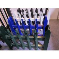 Wholesale Eco Friendly Palisade Security Fence , Metal Picket Fence Panels 2.0*2.4m Size from china suppliers