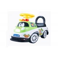 Kids Toddler Plastic Ride On Car Push Baby Walker With Backrest Non - Toxic for sale