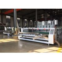 Wholesale Speed  0-1200 Turn / Min Lead Edge Feeder Corrugated Board Thin Blade Slitting Scoring Machine from china suppliers