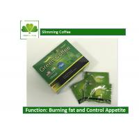 Buy cheap Body Beauty Slimming Coffee Diet , Fat Burner Green Coffee For Weight Loss from wholesalers