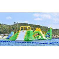 China Giant Inflatable Aqua Park Sports Equipment / Inflatable Water Park Games For Sea on sale