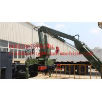 Wholesale Wireless Remote Control Side Lifter Hydraulic Crane For Lifting 20ft 40ft Container from china suppliers