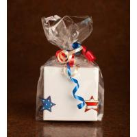 China Clear Chocolate Food Packaging Pouch / Christmas Cello Gift Bag on sale