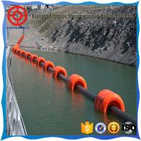 Wholesale High quality marine hose mud suction & discharge black rubber dredging hose with plastic buoys from china suppliers