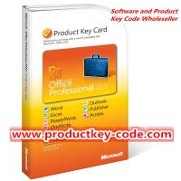 Wholesale Microsoft Office 2010 Product Key Card, Discount Microsoft Office Professional 2010 PKC 1 User from china suppliers