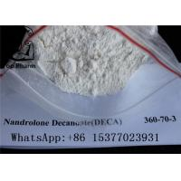 Wholesale White Powder Deca Nandrolone Decanoate CAS 360-70-3 For Fitness Muscle Gaining from china suppliers