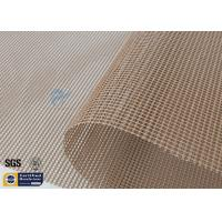 Wholesale PTFE Coated Fiberglass Mesh Fabric 580GSM 4X4MM Industrial Dryer Conveyor Belt from china suppliers