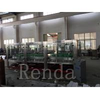 China Automated Glass Bottle Wine Filling Machine High Capacity CE Certification for sale