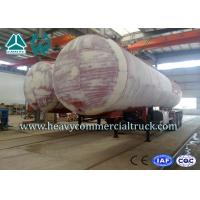Wholesale 45M3 3 Axles Heavy Duty Lpg Propane Gas Tank Trailer With Air Suspension from china suppliers