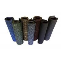 Wholesale 1.1g/Cm³ Density Commercial Rubber Floor Mats , EPDM Gym Floor Mats Non - Porous from china suppliers