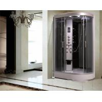 Wholesale Large Quadrant Shower Cubicle Shower Corner Unit With Sector Shape Sitting Bathtub from china suppliers