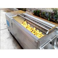 Wholesale Carrots / Sweet Potato Washer, Tumbled Rubbed Fruit Vegetable Washer Machine from china suppliers