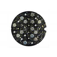 Vehicle Light Round Custom LED PCB Board , Aluminum Printed Circuit Board Assembly