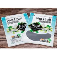 China Pistachio Nut Custom Food Packaging Bags / Heat Seal Zip Pouch With Gravure Printing for sale