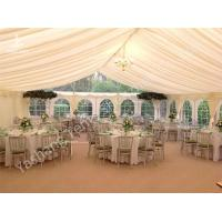 Buy cheap Wedding Reception Marquee / Luxury Dinner Party Tent with Anodized Aluminum from wholesalers