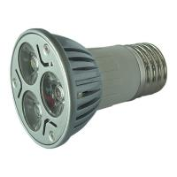 China Aluminum 3W GU10 LED Spot Light , 250 Lumen Par LED Spotlight 3pcs Epistar Lamps on sale