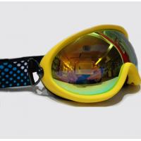 Wholesale REVO Gold Mirrored Lens Anti Fog Snow Goggles for Mens , Womens , Youth from china suppliers