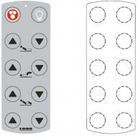Buy cheap Waterproof Gloss Membrane Control Panel from wholesalers