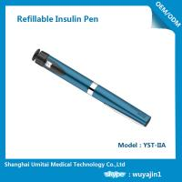 Quality Sapphire Blue Purple Insulin Pen , Regular Insulin Pen For Humalog Cartridge for sale