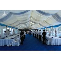 Quality Aluminum Structure Wedding Decoration Tent , 200 People Wedding Party Tent for sale