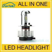 Buy cheap Full Metal! Dual sides 2400LM h4 led high low beam from wholesalers