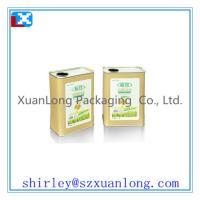 Wholesale square tin can for cooking oil tin box from china suppliers
