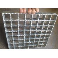 Wholesale Hot Rolled Serrated Steel Grating Galvanized Surface Light Weight from china suppliers