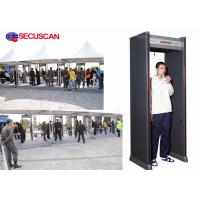 Wholesale Sound and Light Alarm Walk through Metal Detector for Embassies, Jai house, Airport Security Check Area from china suppliers