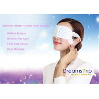 Wholesale Self Heated Lavender Steam Eye Mask Real Steam Released Cotton Disposable from china suppliers