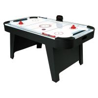 Quality 6 Feet Deluxe Air Hockey Game Table Electronic Scorer Smooth Playing Surface for sale