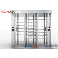 China Double Passage Controlled Access Turnstile Rapid Identification For Stadium With CE Approved on sale