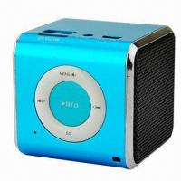 Wholesale Mini MP3 Player Speaker, FM/TF/USB/3.5mm Audio from china suppliers