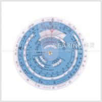 Wholesale Plastic Aviation Circular Flight Computer Navigation Calculator Wheel Chart from china suppliers