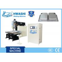 Wholesale HWASHI CNC  Stainless Steel  Rolling Seam Welding Machine for Kitchen Sink from china suppliers
