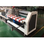 China Corrugated Paperboard Slot Scorer Press Line Machine / Carton Box Packing Machine for sale
