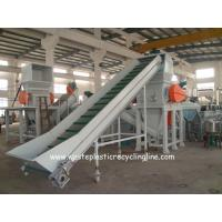 Customized HDPE milk Plastic Bottle Recycling Machine Semi - Automatic for sale