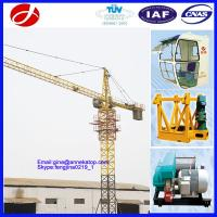 Wholesale Yuanxin Factory good operation 1T- 4T YX4808 Yuanxin tower crane for sale from china suppliers