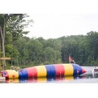 Wholesale Exciting Inflatable Water Toys / Water Catapult Blob For Amusement Park from china suppliers