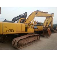 Wholesale Used Japan Excavator KOMATSU PC200 For Sale from china suppliers