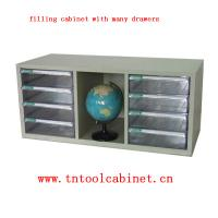 Wholesale plastic drawer file cabinet with many clear drawers from china suppliers