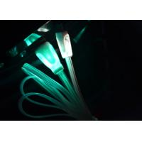 Wholesale 3ft Colorful LED Light Up Charging Cable , Green Light Up Phone Charger Cord from china suppliers