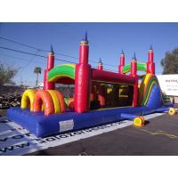 Wholesale Pinnacles Inflatable Obstacle Course Comercial Ertical Rush Obstacle Course from china suppliers