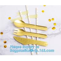 Wholesale paper folk, paper knife, paper spoon, paper straw, paper cultery, paper party supplies, paper plate, paper bowl, paper from china suppliers