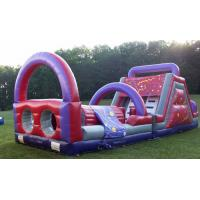 Wholesale 52 Feet Interactive Princess Kids Obstacle Course Inflatable Interesting from china suppliers