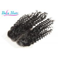 Wholesale Grade 7A Malaysian Deep Curl Lace Closure Human Hair 22'' / 24'' from china suppliers