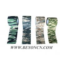 Quality Camo Cohesive Bandage Non Woven Fabric Camping Wrap Adhesive to it self for sale
