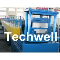 Wholesale 2.5mm Thickness Ridge Cap Roll Forming Machine With Manual, Hydraulic Decoiler from china suppliers