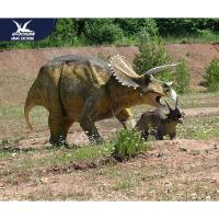 China Customization Lifelike High Simulation Outdoor Dinosaur Model With Infrared Ray Sensor for sale