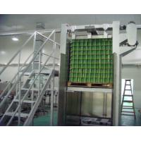 Quality 1800mm Floor Level Depalletizer Machine Electric / Pneumatic Driven Type for sale